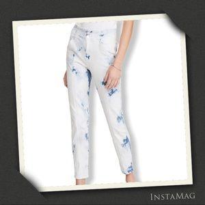 VERONICA BEARD JEAN Tie Dye High Waist Jeans